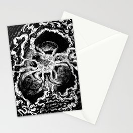 Live elves and fairies in a ring Stationery Cards