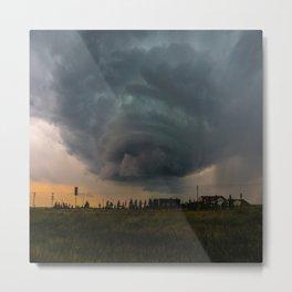Mega Storm Metal Print