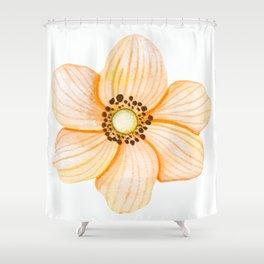 One Orange Flower Shower Curtain