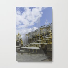 Fountains of Peterhof Metal Print