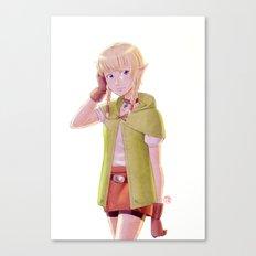 The Legend of Zelda - Linkle Tribute Canvas Print