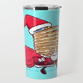 Santa Pancake Travel Mug