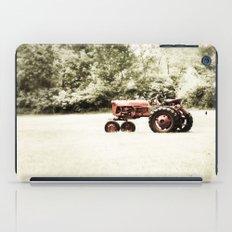 Vintage Red Tractor iPad Case