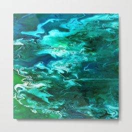 Mossy Waters Metal Print