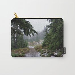 The First Mountain Snowfall Carry-All Pouch