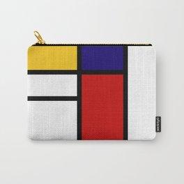 Prints, Mid Century Modern Wall Art, Large Abstract Geometric Wall Art, Mondrian Style Art, Minimali Carry-All Pouch