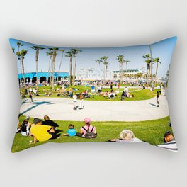 Venice Beach Rectangular Pillow