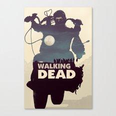 Daryl Dixon - Blue Canvas Print