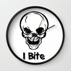 I bite Wall Clock