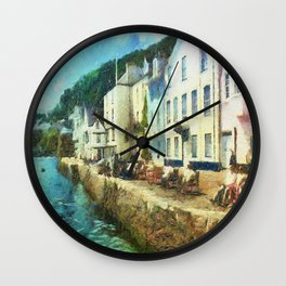 Bayards Cove, Dartmouth,  Devon Wall Clock