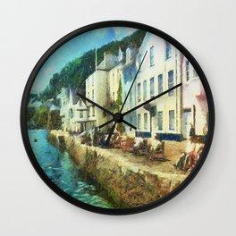 Bayards Cove, Dartmouth,  Devon Wall Clock