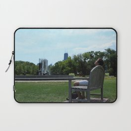 A Break from the City Laptop Sleeve
