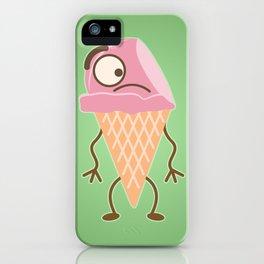 Ice Cream Dude iPhone Case