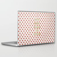 all you need is love Laptop & iPad Skins featuring All you need is love by Libertad Leal Photography