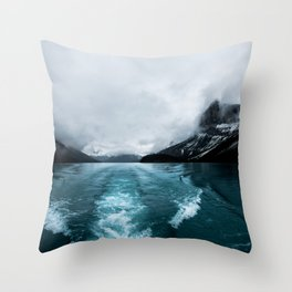 Landscape Photography Alberta Throw Pillow