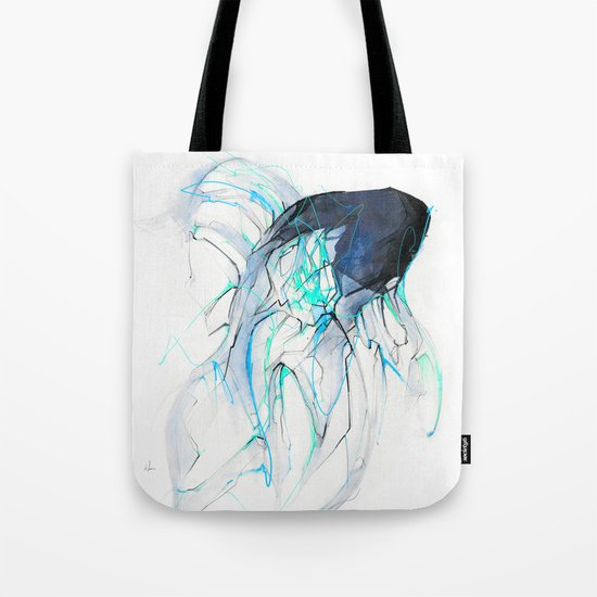 Ghost Fish Tote Bag