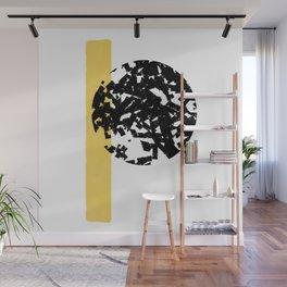 Abstract Moon #society6 #abstractart Wall Mural