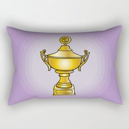 Trophy Cup Winner Rectangular Pillow