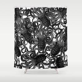 Riptide_inkpool Shower Curtain