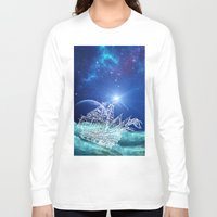 neverland Long Sleeve T-shirts featuring To Neverland by Cat Milchard