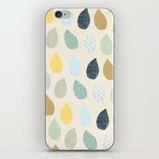 rain drops pattern iPhone & iPod Skin