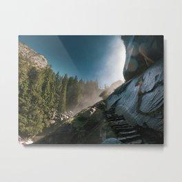 Mist Trail, Yosemite Metal Print