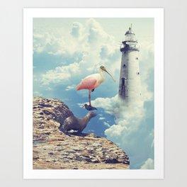 Equilibrio Art Print