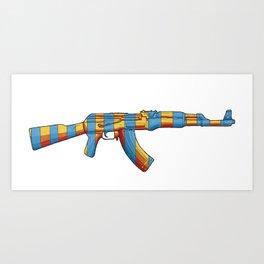 Weapon of mass-production Art Print