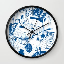 Party II Wall Clock