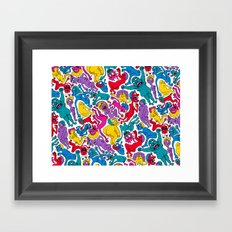 It Bares Repeating Framed Art Print