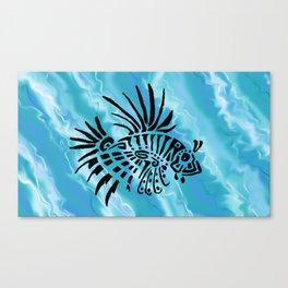 lion fish 1 Canvas Print