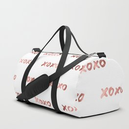 XOXO Fashion Love Rose Gold Pattern 2 Duffle Bag