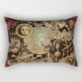 The mediaeval theater Rectangular Pillow