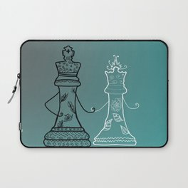 Chess King Qeen Laptop Sleeve