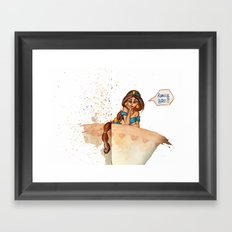 Really, Bro?! Framed Art Print