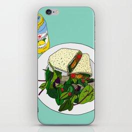 Healthy Falafel Wrap Lunch iPhone Skin