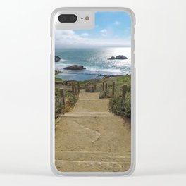 sutro baths Clear iPhone Case