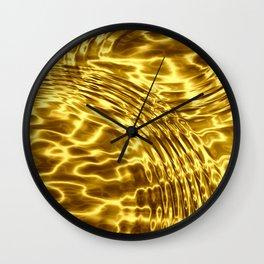 Gold Drops - Sumptuous Wall Clock