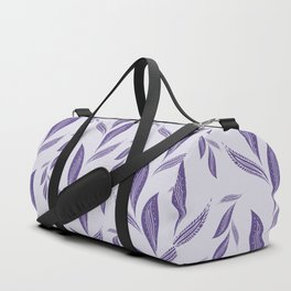 Ultraviolet Foliage #society6 #pattern #ultraviolet Duffle Bag