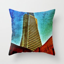 Trance America Throw Pillow