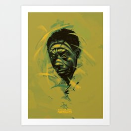 James Baldwin Portrait Art Print
