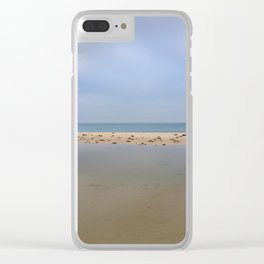 """Peace..."" Lake, sand, sea and sky... Clear iPhone Case"