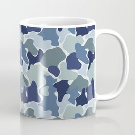 Abstract camouflage pattern Coffee Mug