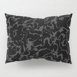 Wild Marble - Abstract dark Pillow Sham