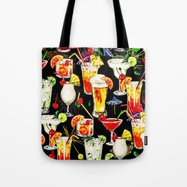 Cocktail Hour in the Tropics Tote Bag