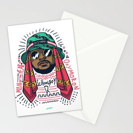 SchoolboyQ Stationery Cards