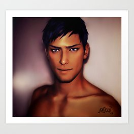 Mr.Daiki Art Print
