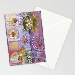 Tea with Lady Lavender Stationery Cards