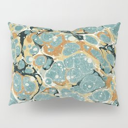 Microscope Marble Pillow Sham