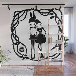 Bunny Girls (Floriane) Wall Mural